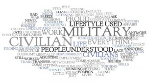 Challenge of transitioning to civilian life